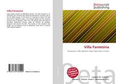 Bookcover of Villa Farnesina