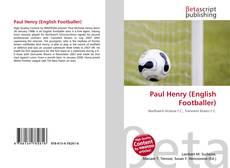 Paul Henry (English Footballer)的封面