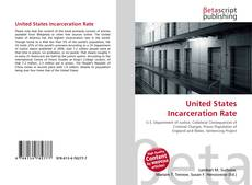 Buchcover von United States Incarceration Rate