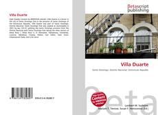 Buchcover von Villa Duarte