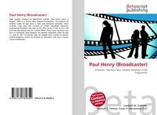 Paul Henry (Broadcaster)的封面