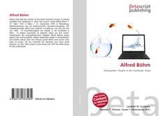 Capa do livro de Alfred Böhm