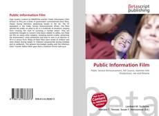 Copertina di Public Information Film
