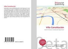 Villa Constitución kitap kapağı