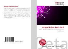 Capa do livro de Alfred Brian Peckford