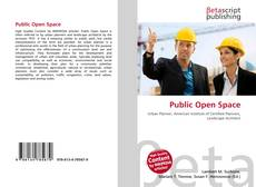 Portada del libro de Public Open Space