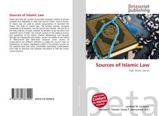 Bookcover of Sources of Islamic Law