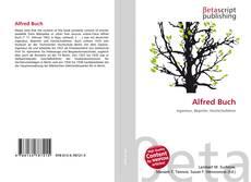 Buchcover von Alfred Buch
