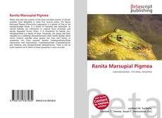 Bookcover of Ranita Marsupial Pigmea