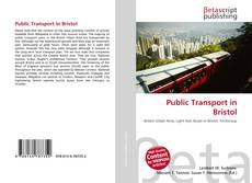 Bookcover of Public Transport in Bristol
