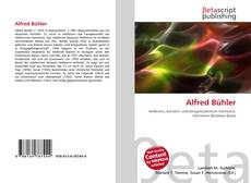 Bookcover of Alfred Bühler