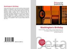 Bookcover of Washington's Birthday