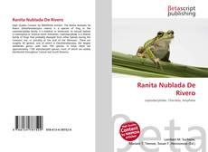 Portada del libro de Ranita Nublada De Rivero