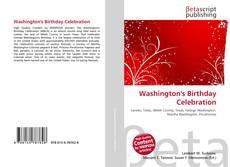 Bookcover of Washington's Birthday Celebration