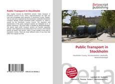 Bookcover of Public Transport in Stockholm