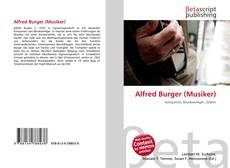 Bookcover of Alfred Burger (Musiker)