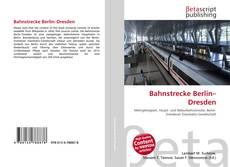 Portada del libro de Bahnstrecke Berlin–Dresden