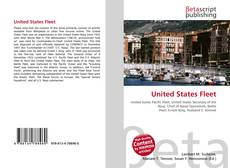 Bookcover of United States Fleet