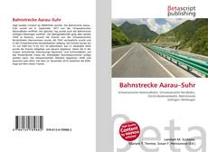 Bookcover of Bahnstrecke Aarau–Suhr