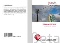 Bookcover of Nanogenerator