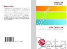 Обложка Villa Quintana