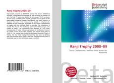 Buchcover von Ranji Trophy 2008–09