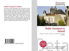 Bookcover of Public Transport in Ireland