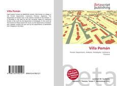 Capa do livro de Villa Pomán