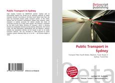 Bookcover of Public Transport in Sydney