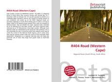 Portada del libro de R404 Road (Western Cape)