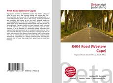 R404 Road (Western Cape)的封面
