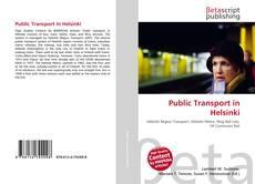 Bookcover of Public Transport in Helsinki