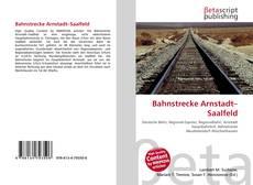 Copertina di Bahnstrecke Arnstadt–Saalfeld