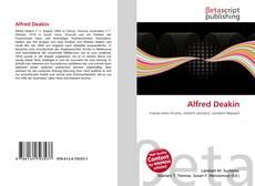 Alfred Deakin的封面