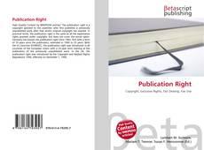 Publication Right kitap kapağı