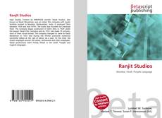 Bookcover of Ranjit Studios