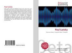 Bookcover of Paul Lansky