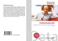 Bookcover of Publish/Subscribe