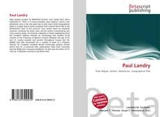 Paul Landry kitap kapağı