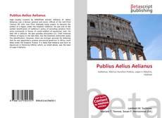 Bookcover of Publius Aelius Aelianus