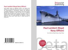 Bookcover of Paul Lambert (Royal Navy Officer)