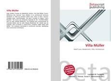 Bookcover of Villa Müller
