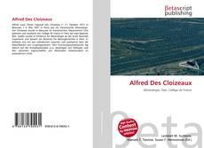 Couverture de Alfred Des Cloizeaux