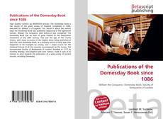 Copertina di Publications of the Domesday Book since 1086