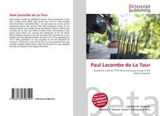 Buchcover von Paul Lacombe de La Tour