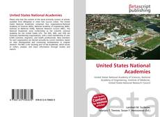 Bookcover of United States National Academies