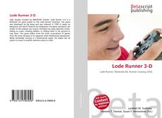 Capa do livro de Lode Runner 3-D