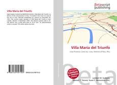 Portada del libro de Villa María del Triunfo