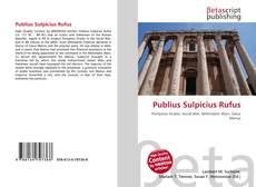 Bookcover of Publius Sulpicius Rufus