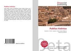 Bookcover of Publius Vatinius